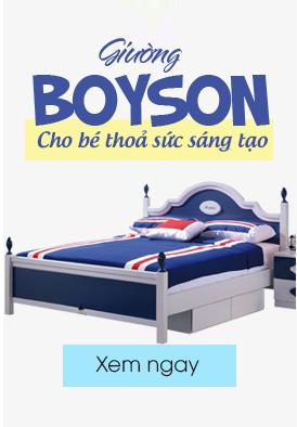 Giường ngủ cho bé trai
