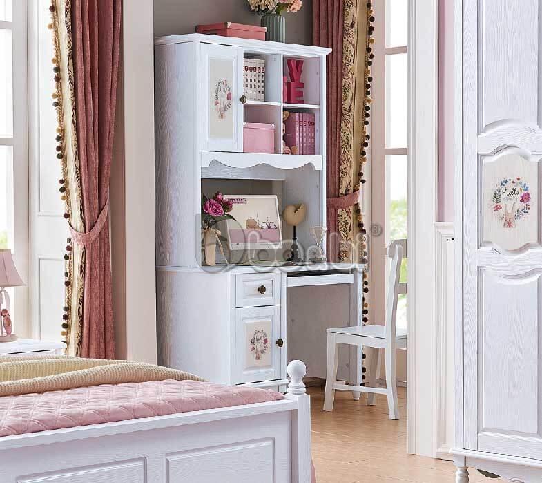 Địa chỉ bán bàn học màu hồng cho bé gái uy tín được khách hàng ưu tiên lựa chọn ảnh 3