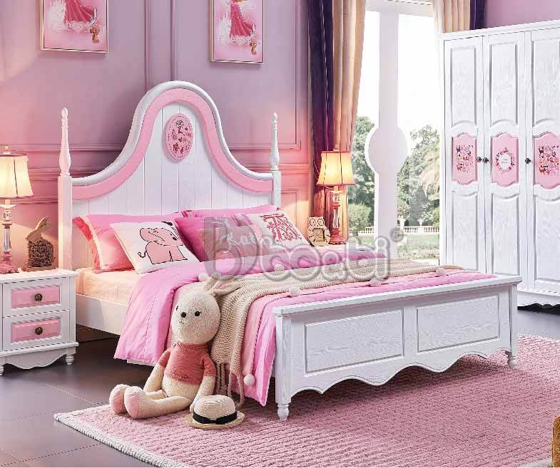 Phát cuồng với 15+ mẫu giường ngủ cho bé gái từ 3 – 5 – 10 tuổi quá đẹp ảnh 2