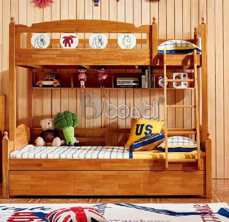 Mua giường tầng trẻ em bằng gỗ uy tín, chất lượng ở đâu Hà Nội? ảnh 8