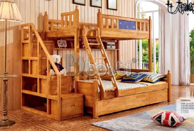 Mua giường tầng trẻ em bằng gỗ uy tín, chất lượng ở đâu Hà Nội? ảnh 2