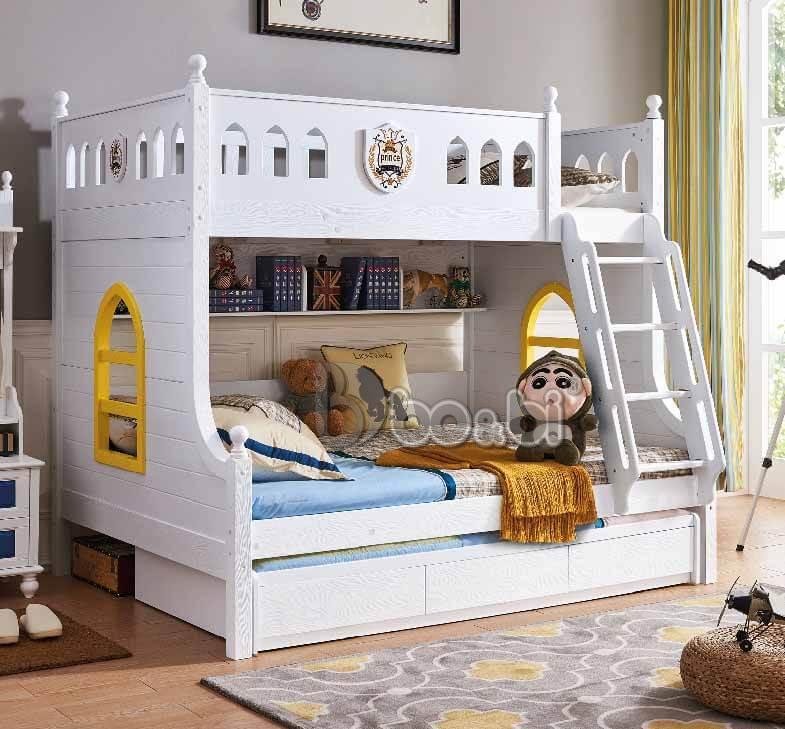 Mua giường tầng trẻ em bằng gỗ uy tín, chất lượng ở đâu Hà Nội? ảnh 3