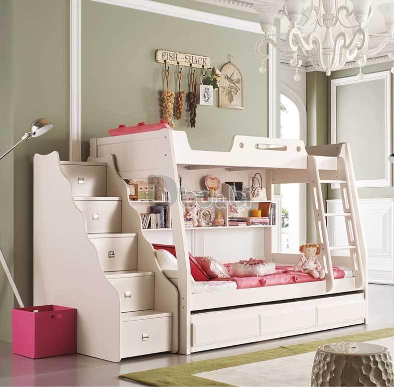 Mẫu giường tầng cho bé trai và gái ảnh 1