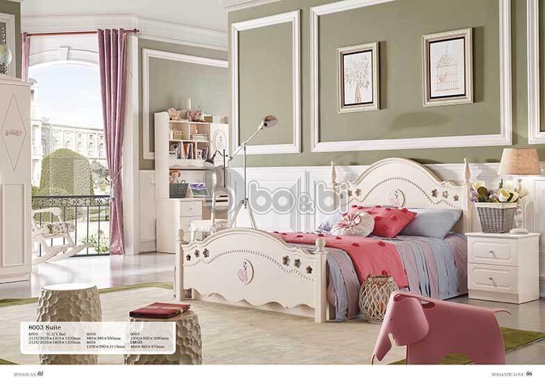 Phát cuồng với 15+ mẫu giường ngủ cho bé gái từ 3 – 5 – 10 tuổi quá đẹp ảnh 15