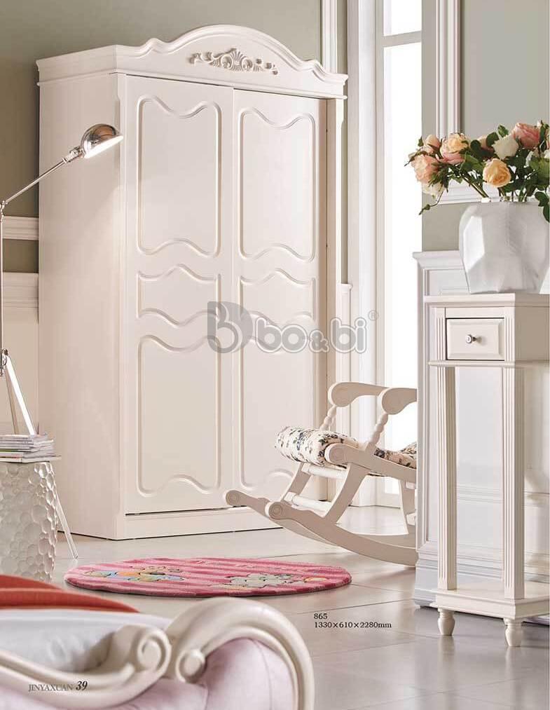Top 5 mẫu tủ quần áo cá tính màu trắng cho bé gái ảnh 3