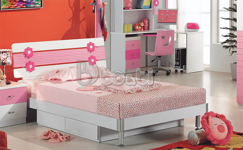 Phát cuồng với 15+ mẫu giường ngủ cho bé gái từ 3 – 5 – 10 tuổi quá đẹp ảnh 10
