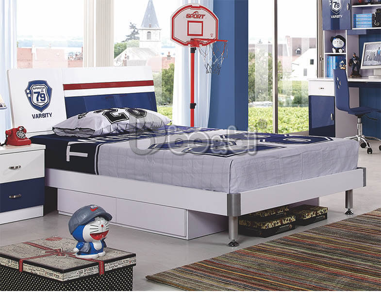 10 mẫu giường ngủ cho bé trai từ 4 – 10 tuổi nhìn là mê ảnh 9