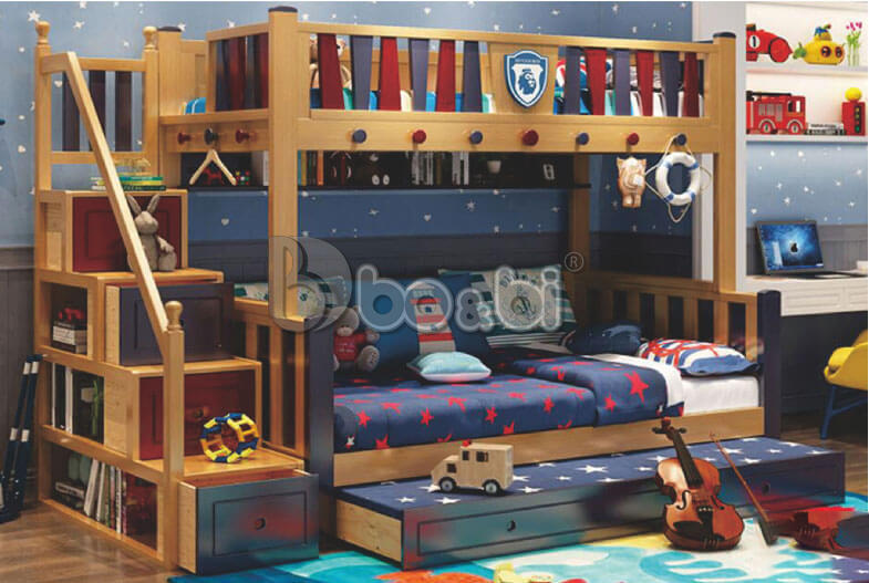Mua giường tầng trẻ em bằng gỗ uy tín, chất lượng ở đâu Hà Nội? ảnh 5