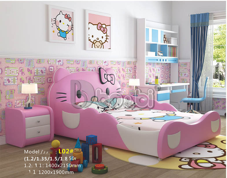 Phát cuồng với 15+ mẫu giường ngủ cho bé gái từ 3 – 5 – 10 tuổi quá đẹp ảnh 9