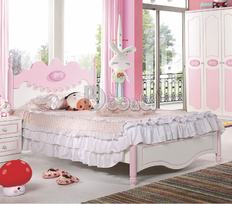 Điểm danh 7 mẫu giường công chúa đẹp hoàn hảo, bé thích mê-4