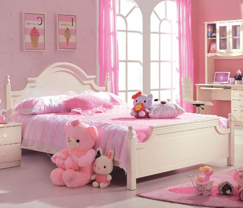 Điểm danh 7 mẫu giường công chúa đẹp hoàn hảo, bé thích mê-2