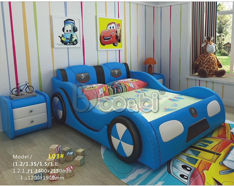 Giường ngủ trẻ em hình ô tô – lựa chọn hoàn hảo cho sự sáng tạo của bé ảnh 3