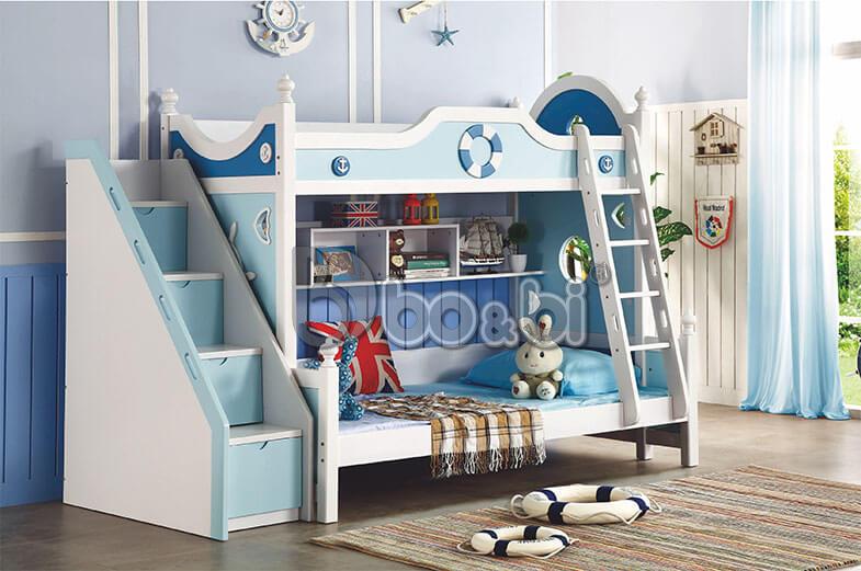 Mua giường tầng trẻ em bằng gỗ uy tín, chất lượng ở đâu Hà Nội? ảnh 1