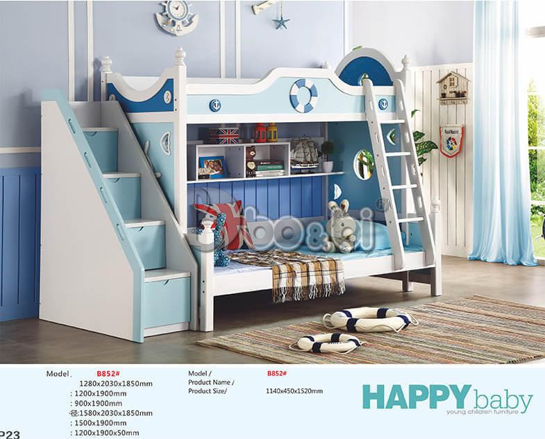 Mẫu giường tầng cho bé trai và gái ảnh 6