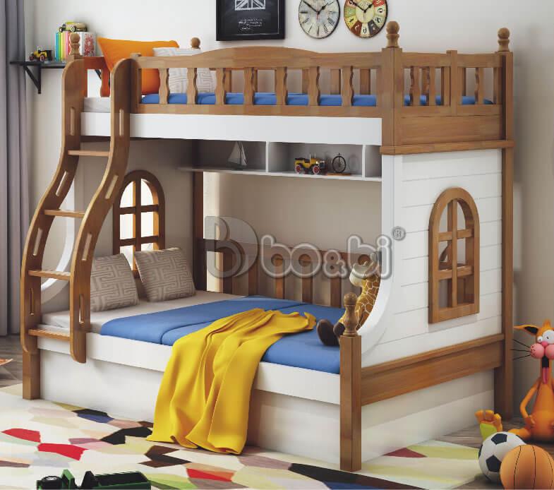 Mẫu giường tầng cho bé trai và gái ảnh 5