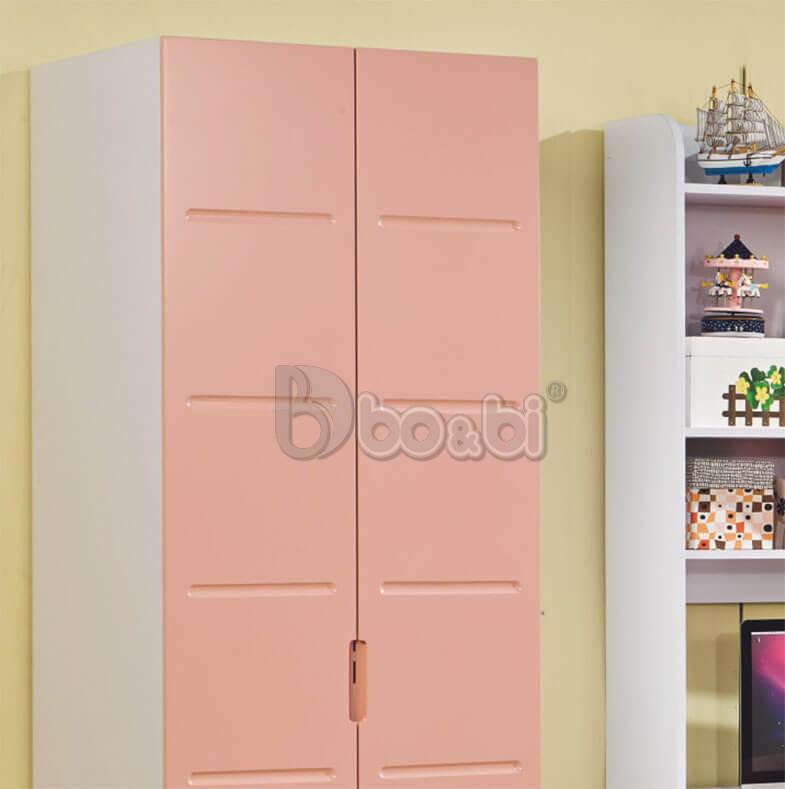 3 mẫu tủ quần áo màu hồng cho bé gái Hot nhất 2019 ảnh 2