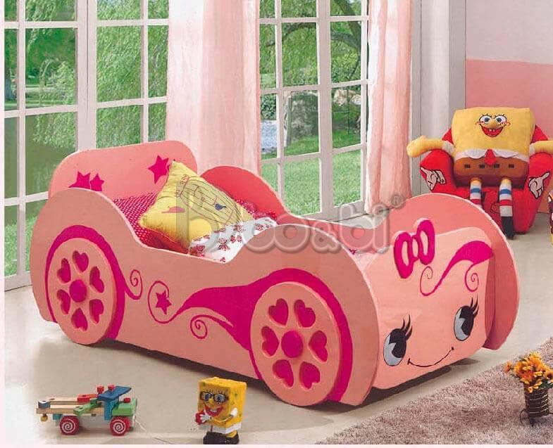 Phát cuồng với 15+ mẫu giường ngủ cho bé gái từ 3 – 5 – 10 tuổi quá đẹp ảnh 1