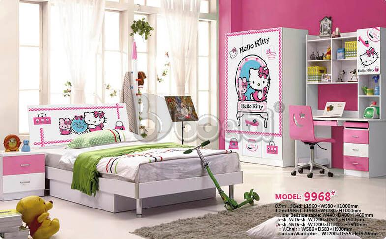 """""""Mê Tít"""" với 5 mẫu phòng ngủ Hello Kitty cho bé gái đẹp tại bo&bi ảnh 2"""