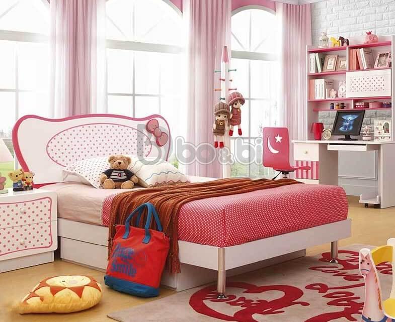 Phát cuồng với 15+ mẫu giường ngủ cho bé gái từ 3 – 5 – 10 tuổi quá đẹp ảnh 8