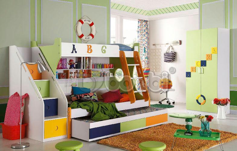 Mẫu giường tầng cho bé trai và gái ảnh 8