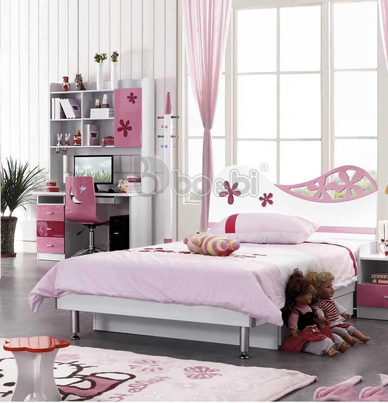 Phát cuồng với 15+ mẫu giường ngủ cho bé gái từ 3 – 5 – 10 tuổi quá đẹp ảnh 6