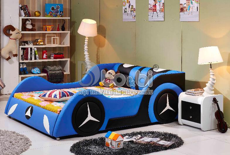 5 mẫu phòng ngủ hình ô tô cho bé trai Hot nhất 2019-2