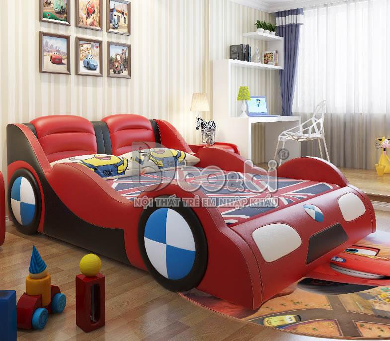 Giường ngủ trẻ em hình ô tô – lựa chọn hoàn hảo cho sự sáng tạo của bé ảnh 12