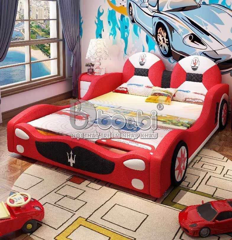 Giường ngủ trẻ em hình ô tô – lựa chọn hoàn hảo cho sự sáng tạo của bé
