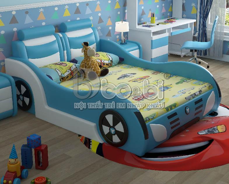 Giường ngủ trẻ em hình ô tô – lựa chọn hoàn hảo cho sự sáng tạo của bé ảnh 8