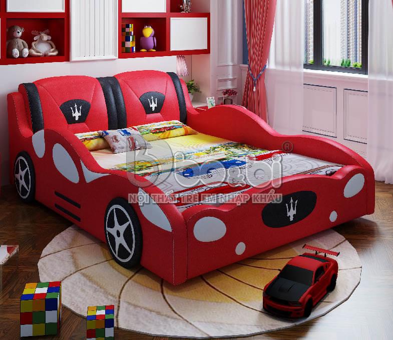 Giường ngủ trẻ em hình ô tô – lựa chọn hoàn hảo cho sự sáng tạo của bé ảnh 9