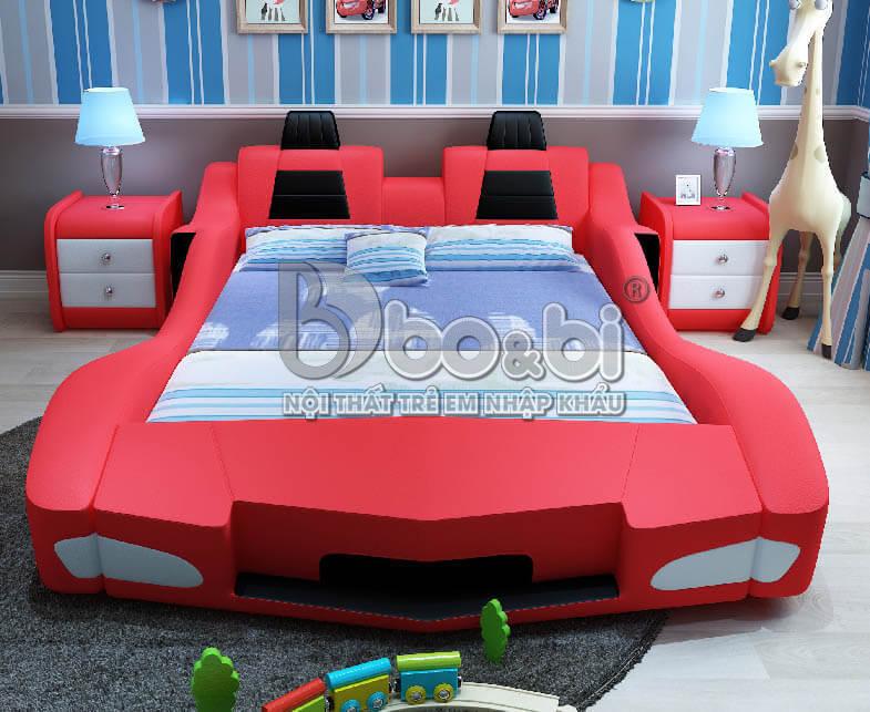 Giường ngủ trẻ em hình ô tô – lựa chọn hoàn hảo cho sự sáng tạo của bé ảnh 7