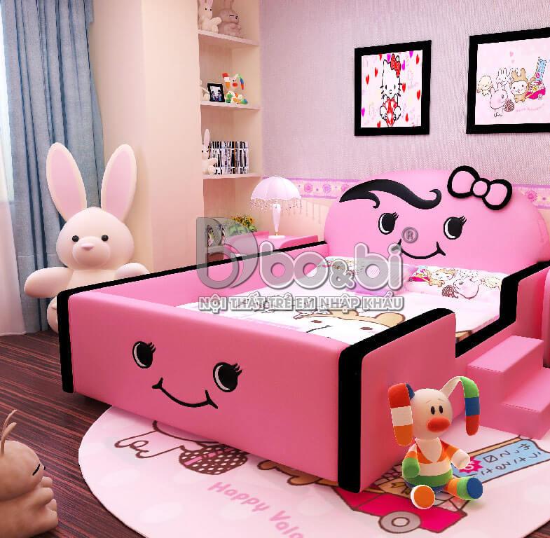 3 mẫu thiết kế phòng ngủ đẹp mê mẩn cho các bé gái 10 – 12 – 15 tuổi bố mẹ nên tham khảo-4