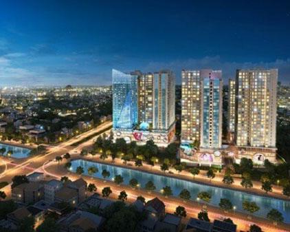 Hinode City sắp ra mắt tòa mới có tên Asahi Tower – Tòa tháp Ánh sáng