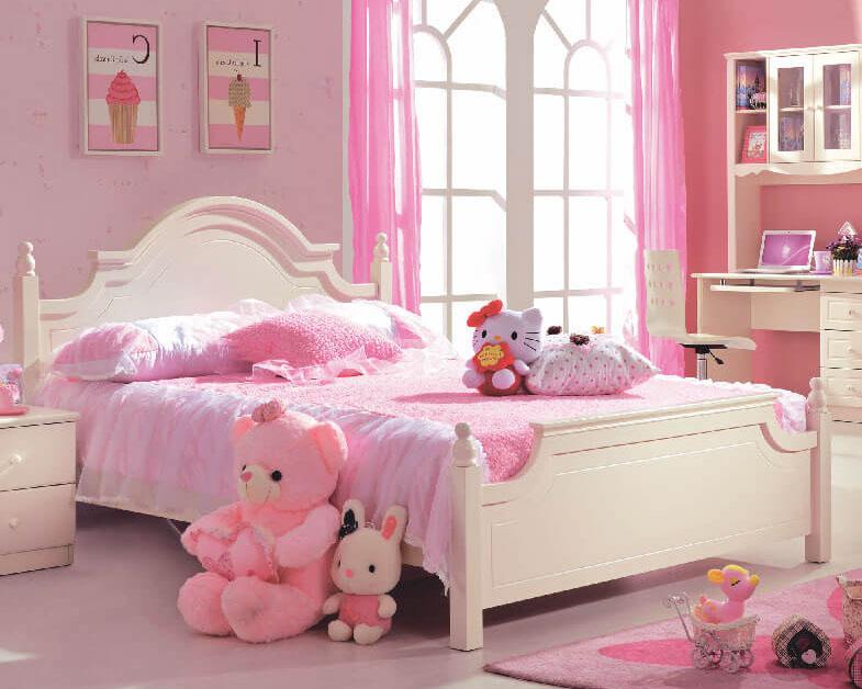 Điểm danh 7 mẫu giường công chúa đẹp hoàn hảo, bé thích mê