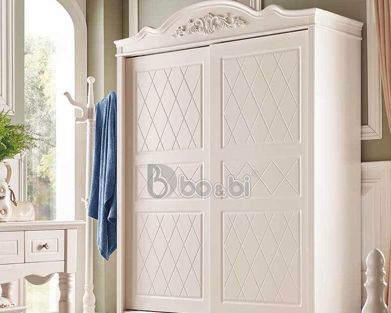 Top 5 mẫu tủ quần áo cá tính màu trắng cho bé gái