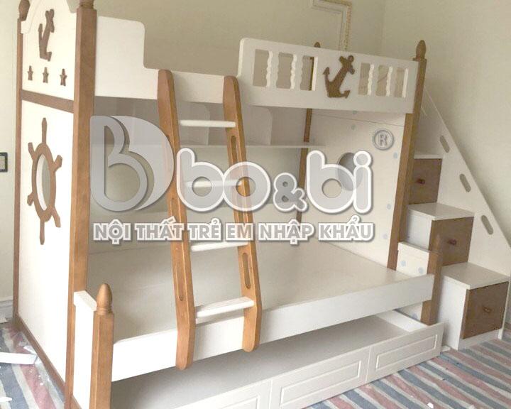 Công trình phòng ngủ cho bé trai cá tính của nhà anh Huy
