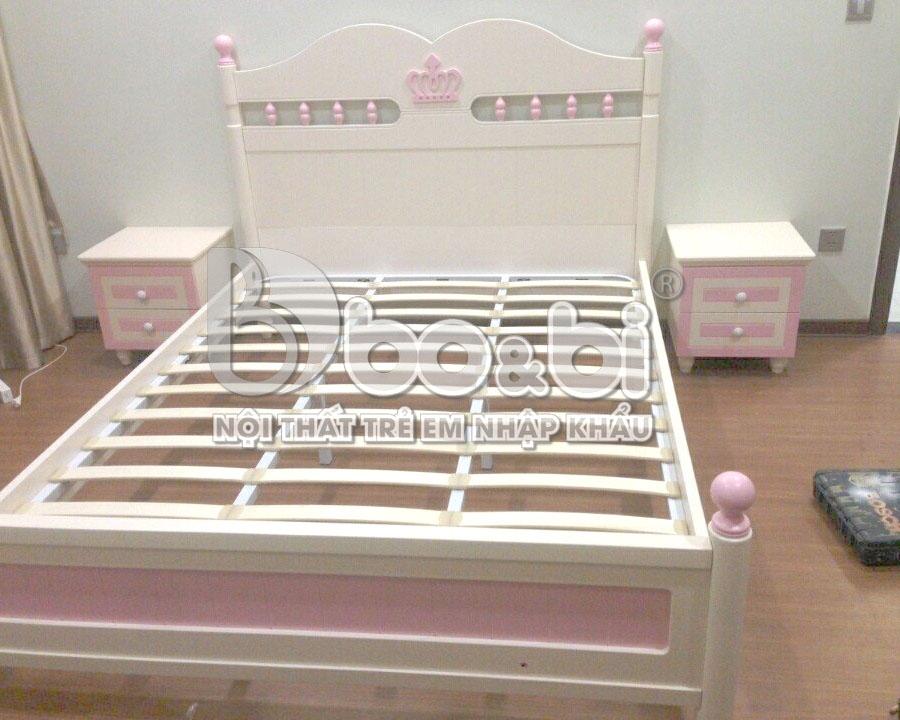 Phòng ngủ đáng yêu cho bé Diệu Linh tại Đống Đa
