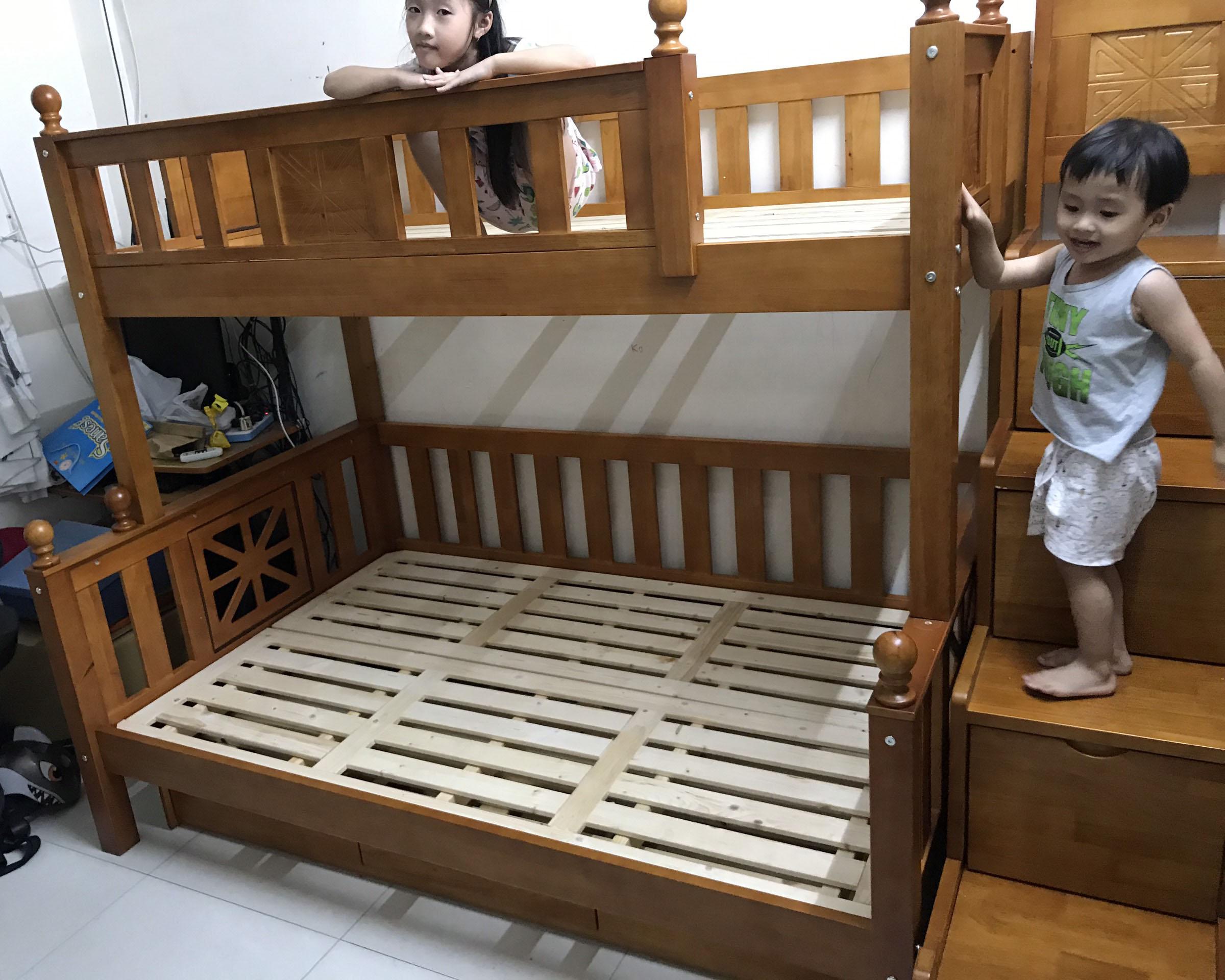 Công trình thi công lắp đặt giường tầng trẻ em cho gia đình chị Hạnh – Long Biên