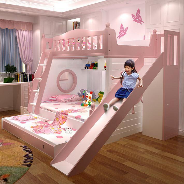 Tham khảo mẫu giường tầng cho bé