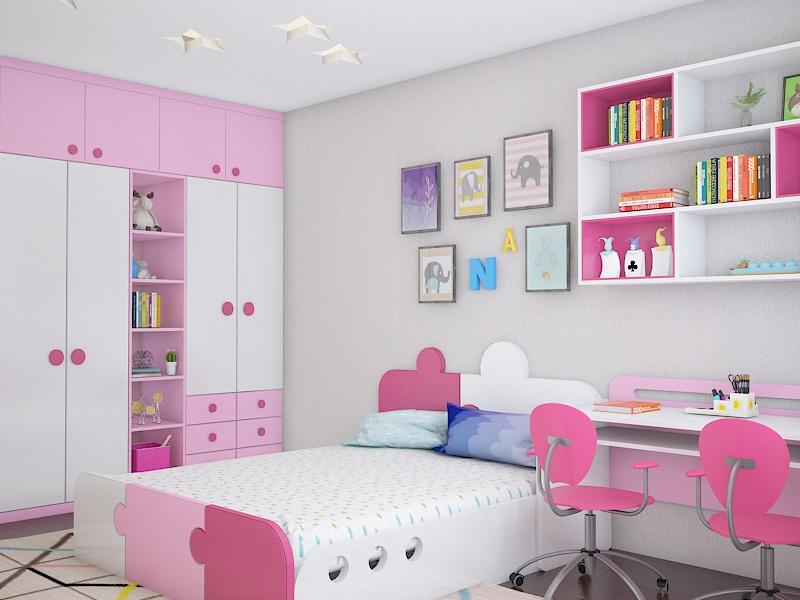 Thiết kế nội thất phòng ngủ cho trẻ em cần lưu ý những gì?