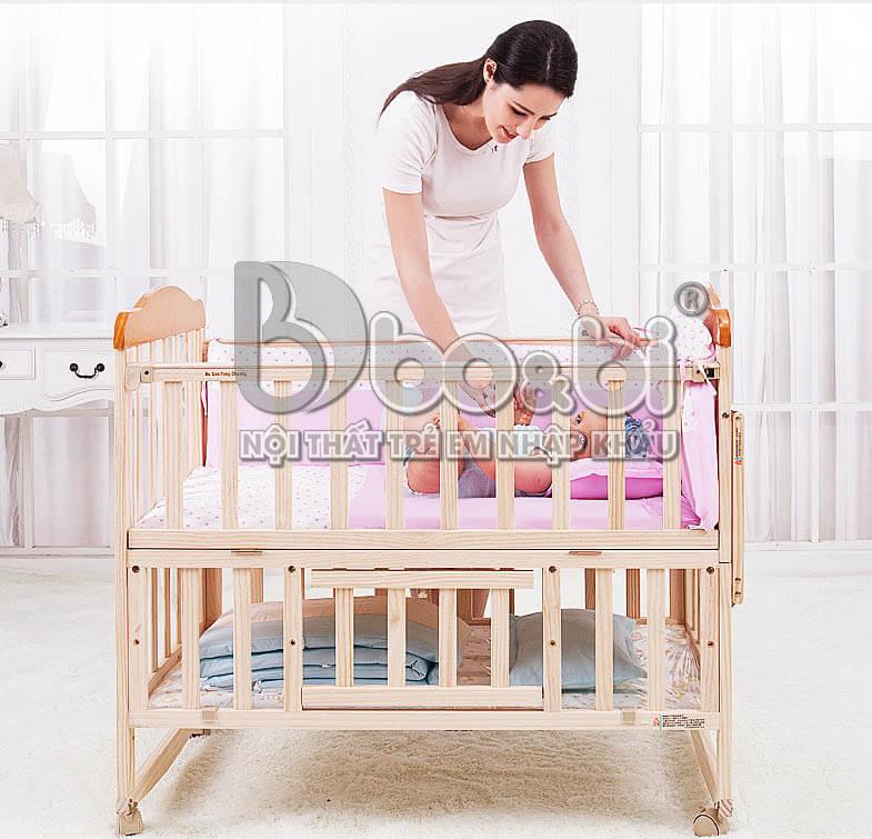 Vì sao các mẹ nên mua cũi cho bé sơ sinh ?