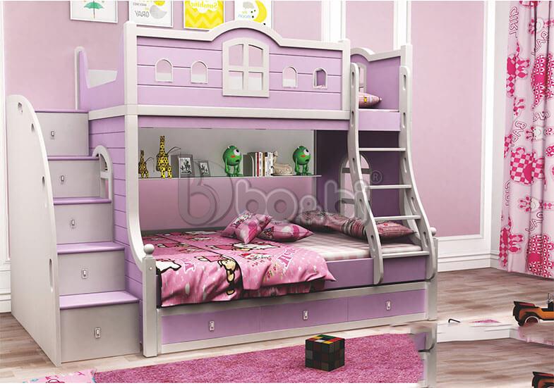Giới thiệu một số mẫu giường tầng trẻ em cao cấp