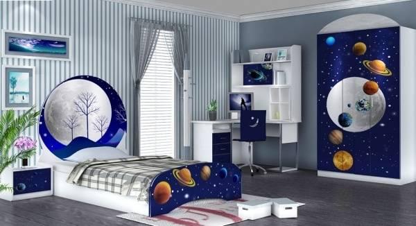 Thiết kế phòng ngủ cho bé trai thế nào vừa đẹp lại an toàn?