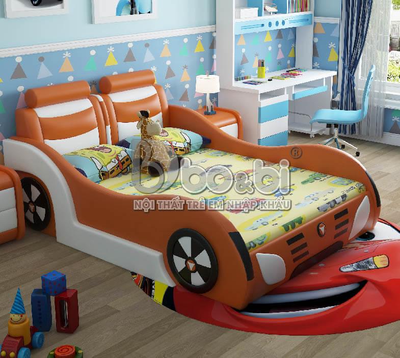 Những mẫu giường xe hơi cho bé cao cấp
