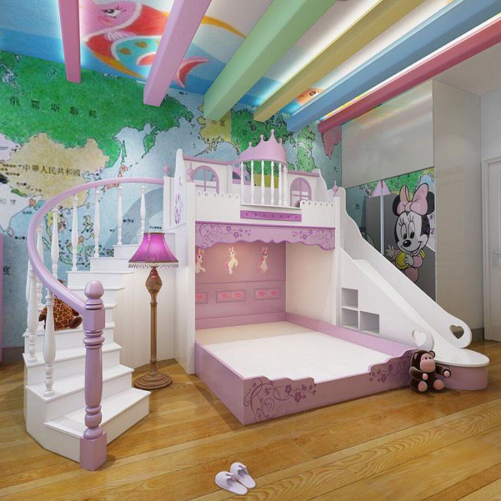 4 Lợi ích bất ngờ của giường tầng cho trẻ em