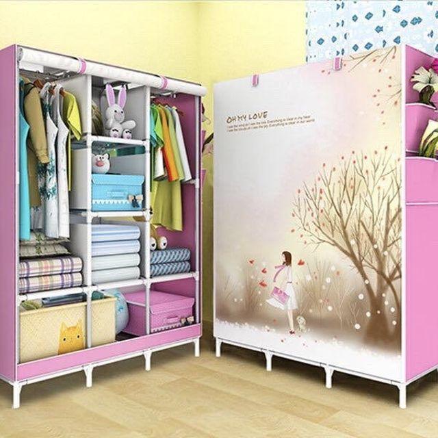Lý do các gia đình nên chọn mua tủ quần áo bằng vải