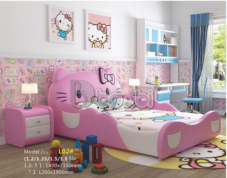 Tham khảo một số mẫu giường hello kitty giá rẻ