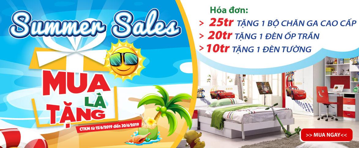"""Đón """"cơn mưa giảm giá"""" mua là tặng cực hấp dẫn tại Siêu thị nội thất trẻ em BoandBi"""