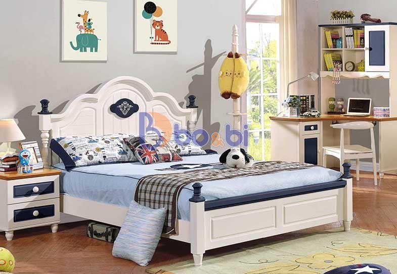 Tư vấn chọn mẫu giường bé trai theo phong cách châu Âu