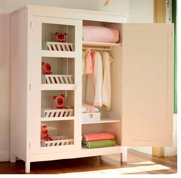 4 Lưu ý đặc biệt cần nhớ khi chọn tủ quần áo cho trẻ sơ sinh